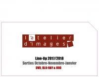 3. Line Up 2017-2018 L'Atelier D'Images – Octobre à Janvier